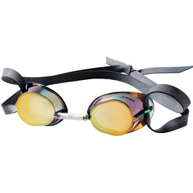 FINIS Dart Traditional Racing Lunettes De Protection, gold/mirror